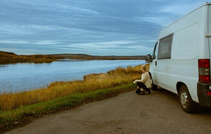 Roadtrip Lappiin ja Norjaan lokakuussa: Keski-SuomestaKilpisjärvelle
