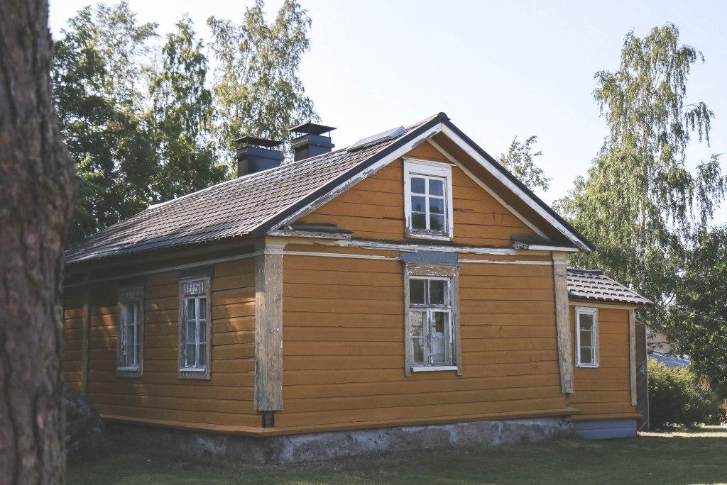 Itäisen Suomenlahden kansallispuistossa Tammion saarella heinäkuussa.