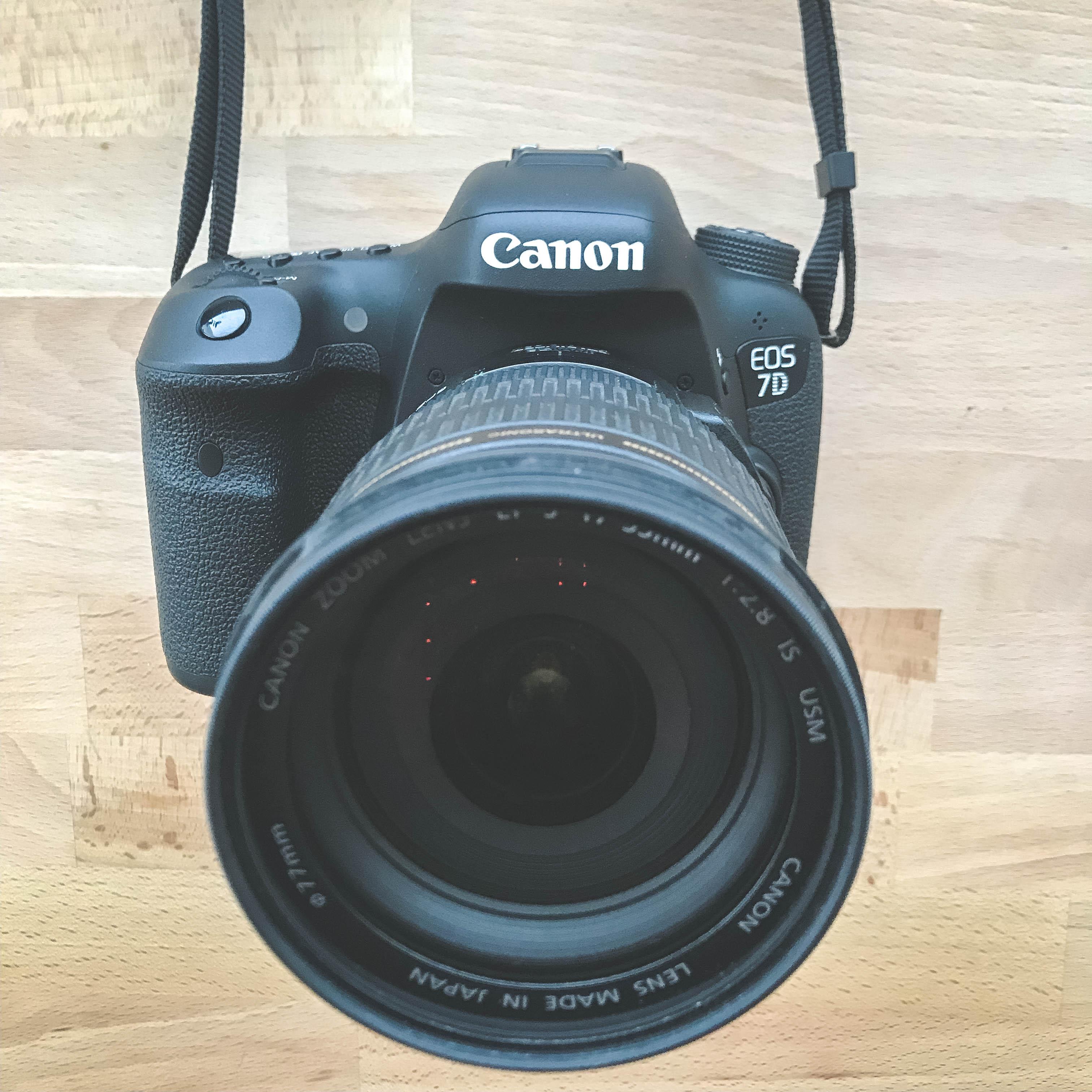 Canon 7D Mark II - uusi kamerani