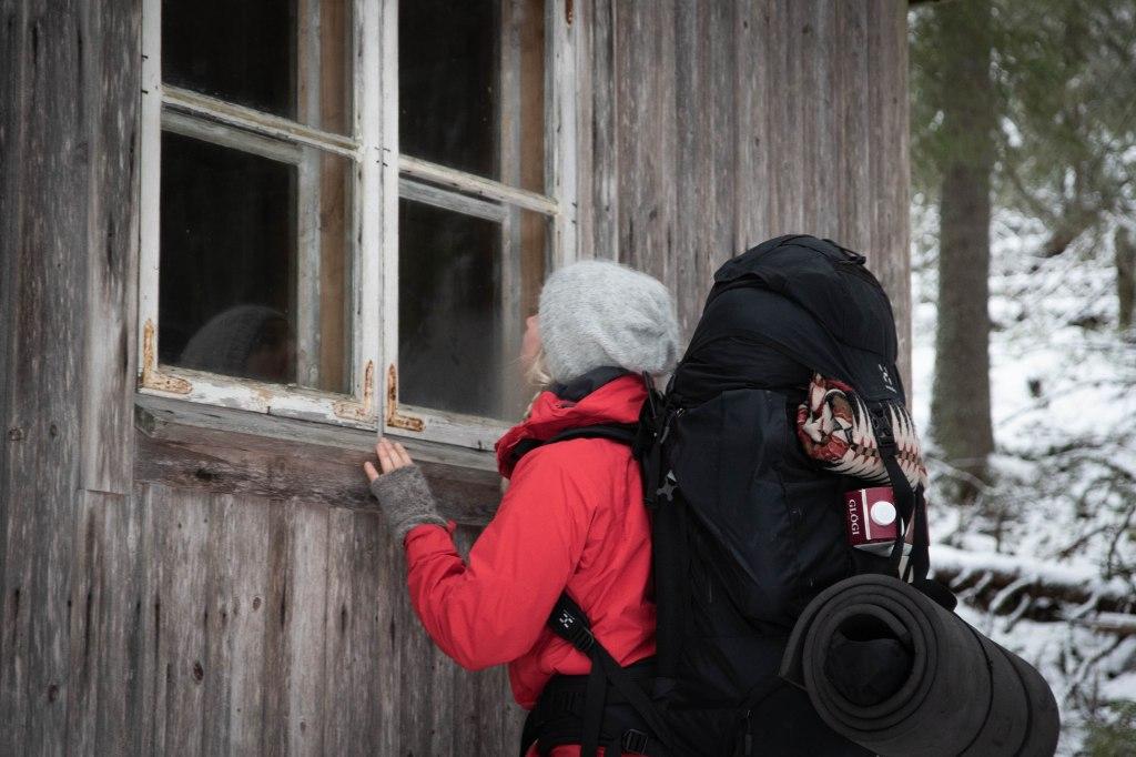 Etelä-Konneveden kansallispuistossa talvella.