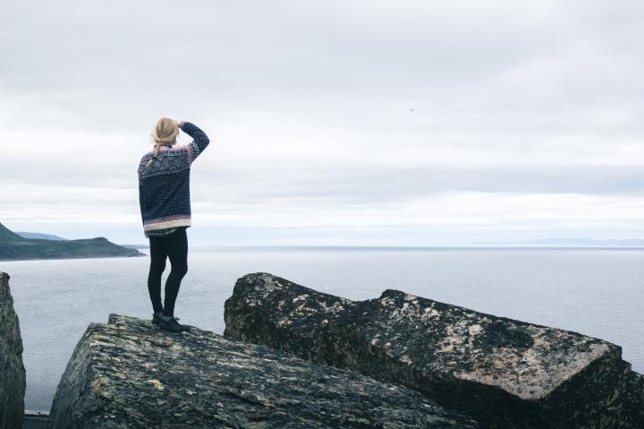 Pakureissussa: Pohjois-Norjassa Varanginniemimaalla