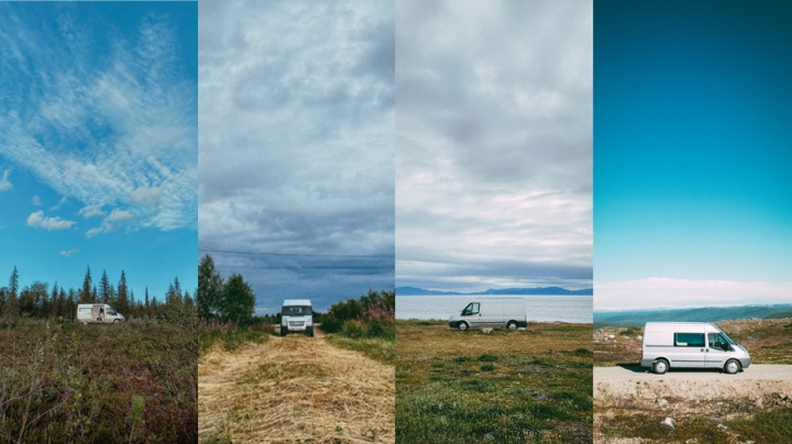 Matkalla perillä – Eläminenpakettiautossa